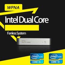 Микро неттоп  intel core i3 i5 6100U 6200U 7100U 7200U HD Graphics 520 620 Windows10 мини пк игровой Настольный концилярия компьютер