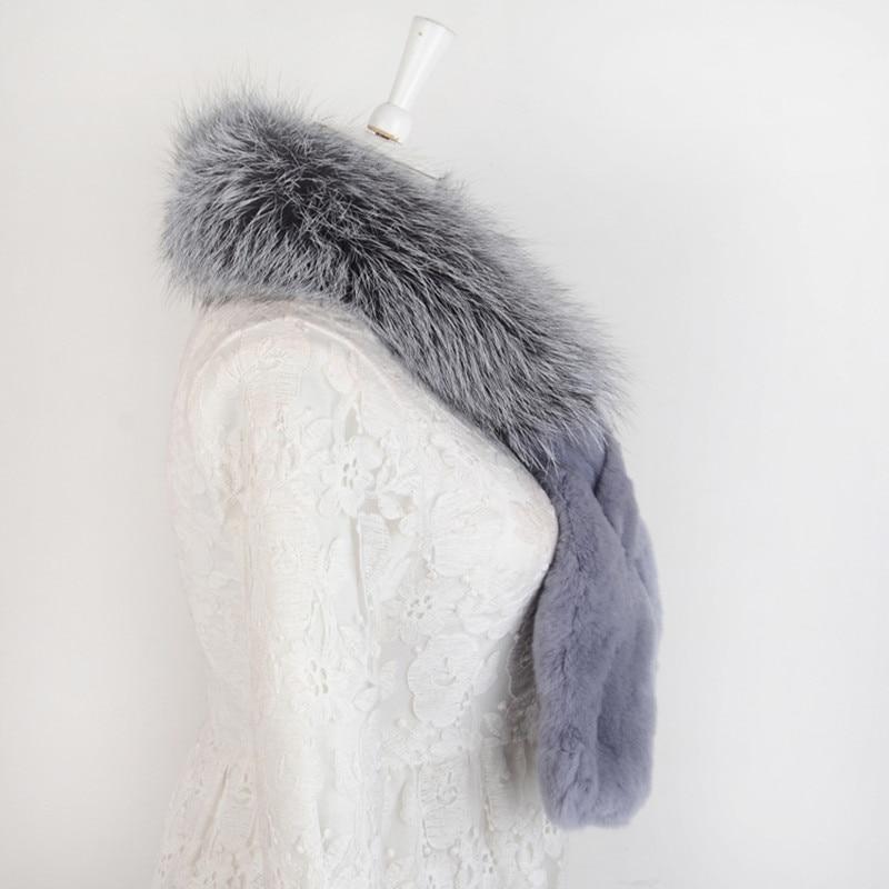 Foulard gris spécial nouveauté femmes sexe dame amour échantillon confortable 100 cm longueur nouveauté automne unique femme ET4030-11 - 4
