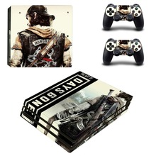Days Gone PS4 Pro Skin Sticker Decal for PlayStation 4 Console and 2 Controller PS4 Pro Skin Sticker Vinyl