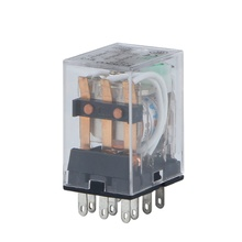 MY3NJ HH53P small intermediate relay  DC12V/24V, AC220V 11-pin with light
