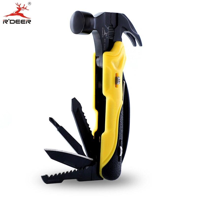 Многофункциональный инструмент, уличный нож для выживания 7 в 1, набор многофункциональных инструментов, мини-складные плоскогубцы, отвертк...