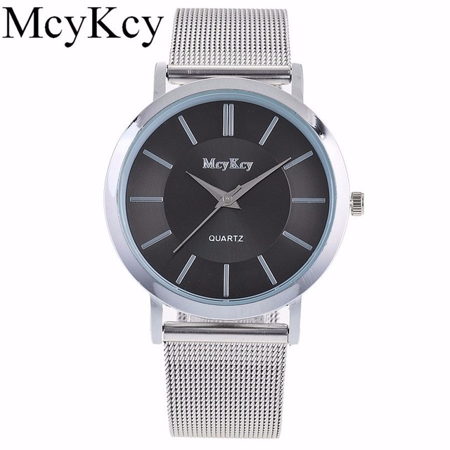 Relogio Masculino New Luxury Brand Lovers Watch Men Fashion Stainless Steel Watches Women Casual Quartz Watch Silver Clock Hot