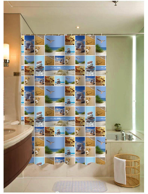 Shower Curtains bathroom ensembles shower curtains : New Arrival Waterproof Thickened Shower Curtain Polyester Shower ...