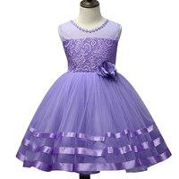 Summer Girl Dress Top Grade 3 12 Yrs Princess Dresses Wedding Butterfly Lace Formal Girl Birthday