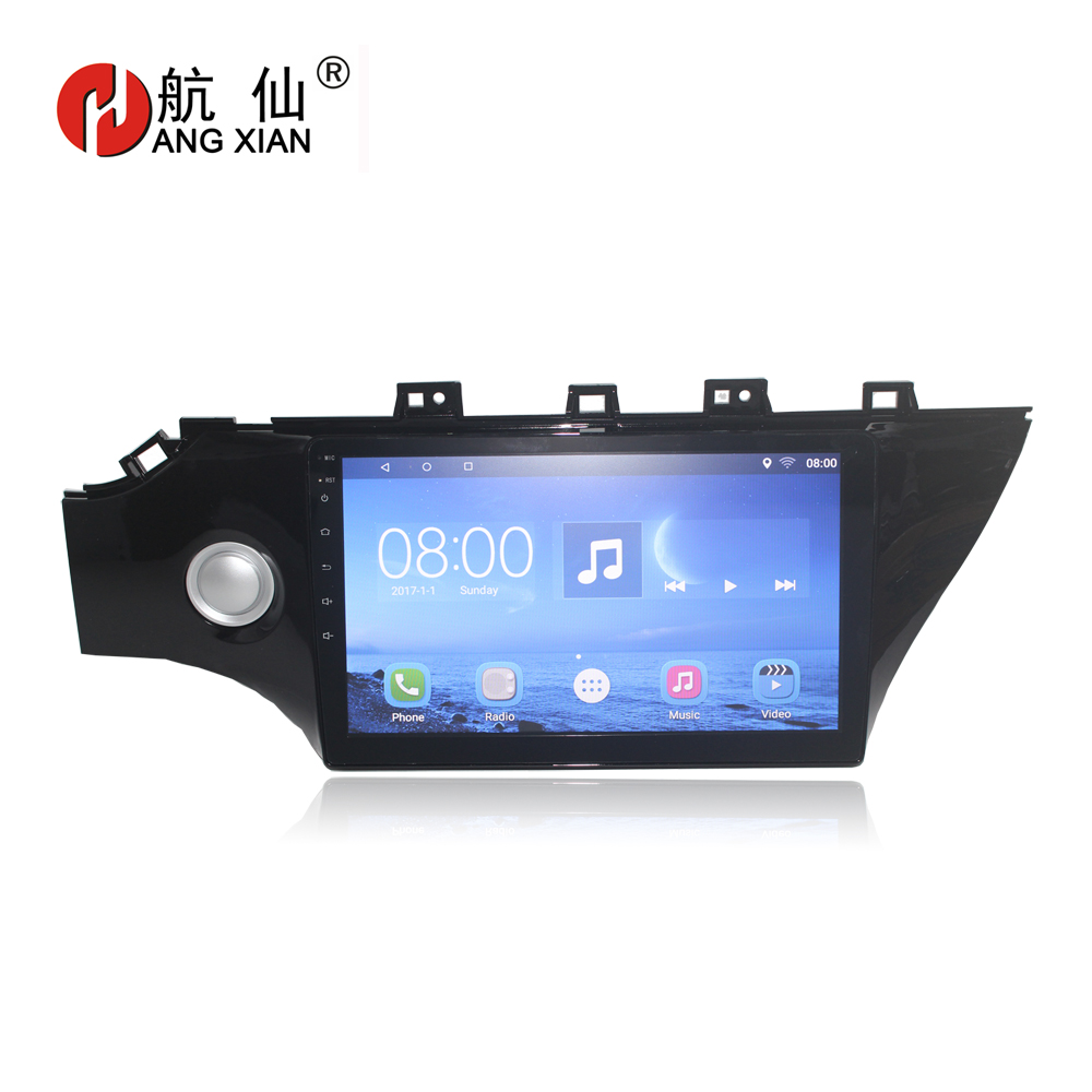 Bway 10 2 din Car radio for 2017 KIA K2 Quadcore Android 6.0 car dvd player GPS navigation with 2 G RAM,32 G iNand