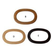 Wooden Handles Handbag Hanger Replacement For Bag Handbags Purse Shopping Tote DIY Accessories