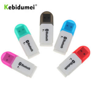 Kebidumei USB Wireless Bluetooth 5.0 Music Audio Stereo Audio Music Adapter for TV Phone PC for Car AUX Android/IOS