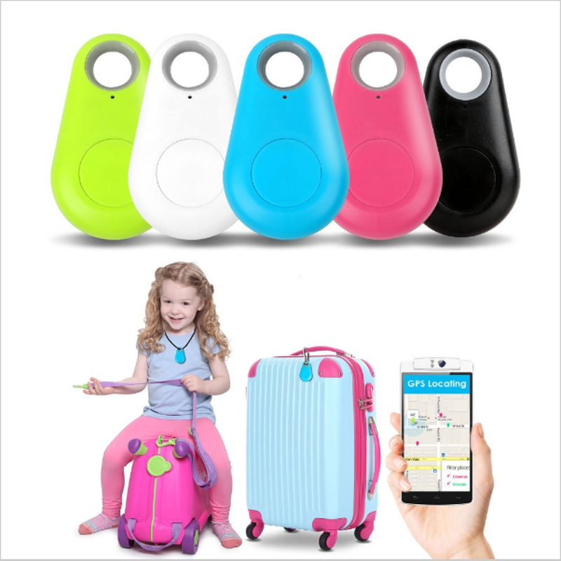 2018 NEW anti-lost iTag iTracing Mini Smart Finder Bluetooth Tracer Pet Child GPS Locator Tag Alarm Wallet Key Tracker