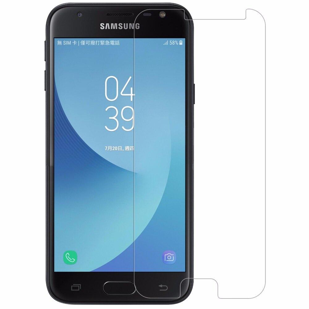 Pour Samsung Galaxy J3 2017 En Verre Trempé Nillkin Incroyable H Écran Protecteur Pour Galaxy J3300 Anti-éclatement Film De Protection