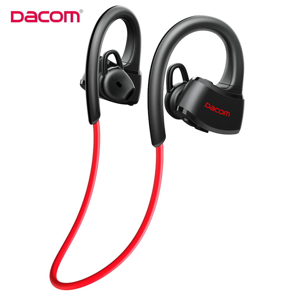 Original Dacom P10 Bluetooth Headset IPX7 Waterproof Wireless Sport Running Headphone Stereo Music Earbuds Headsfree with Mic dacom gf7 bluetooth 4 1 wireless sports stereo music headset headsfree earbuds support ios android pc with mic for iphone7 7p