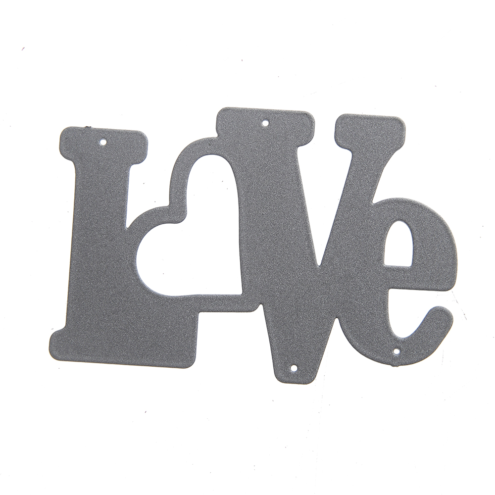 New Embossing Steel Valentine\'s Day Love Cutting Dies Stencils DIY ...