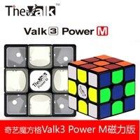 Qiyi Mofangge Valk3 Power 3x3x3 en Magnetische Versie kubus Rubiks cube 3x3 Speed Cube professionele Educatief Speelgoed Drop verzending