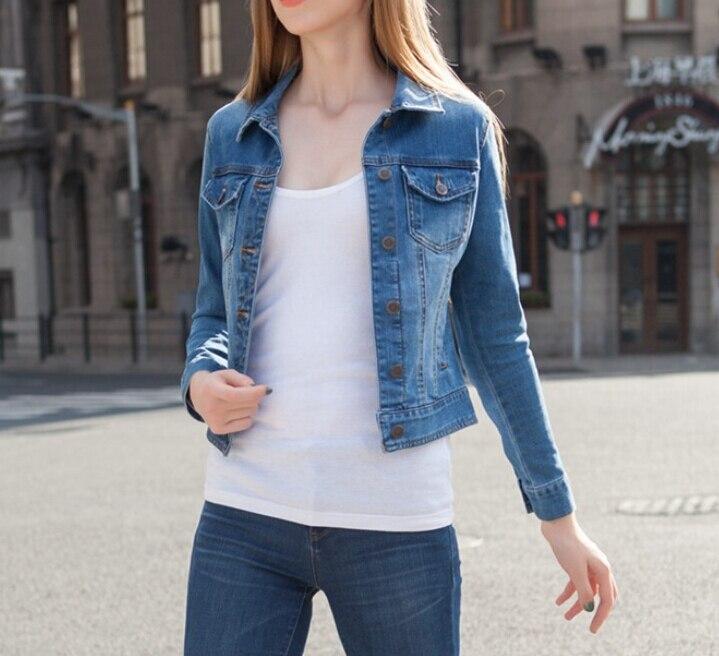 Aliexpress.com : Buy Fashion Women Denim Jacket Long Sleeve
