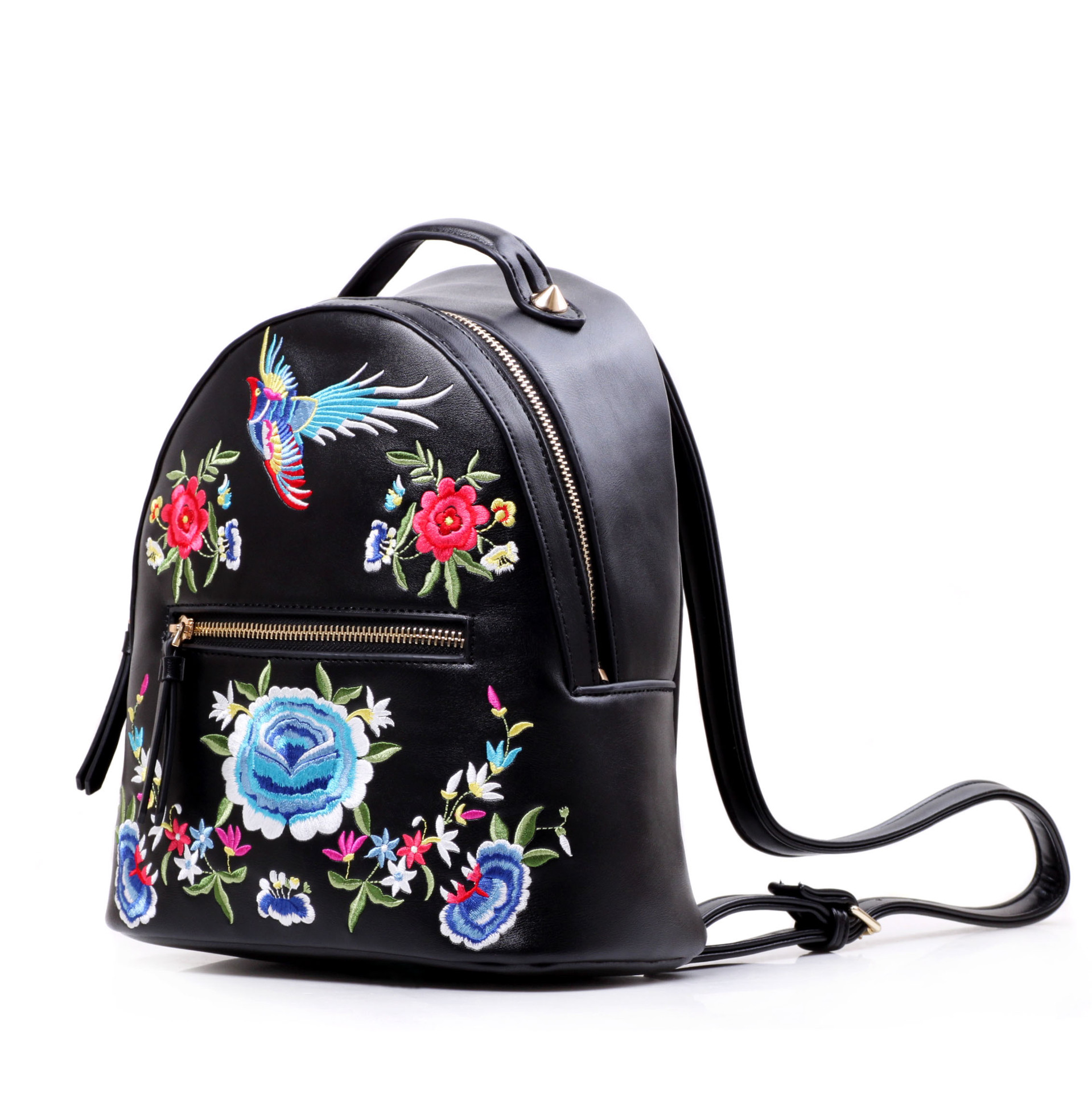 Ethnic Embroidered Backpack For Girls Folk Phoenix Bag Ladies Flower Embroidery  Backpack Small Back Pack Women's Casual Daypacksin Backpacks From Luggage