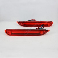 LED Rear Bumper Warning Lights Car Brake Light Running Lamp For Nissan X Trail Qashqai Infiniti