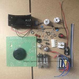 Image 1 - 1 шт./лот DC две лампы PCB Board tube radio kit DC two light FM tube radio kit PCB board лучшее качество