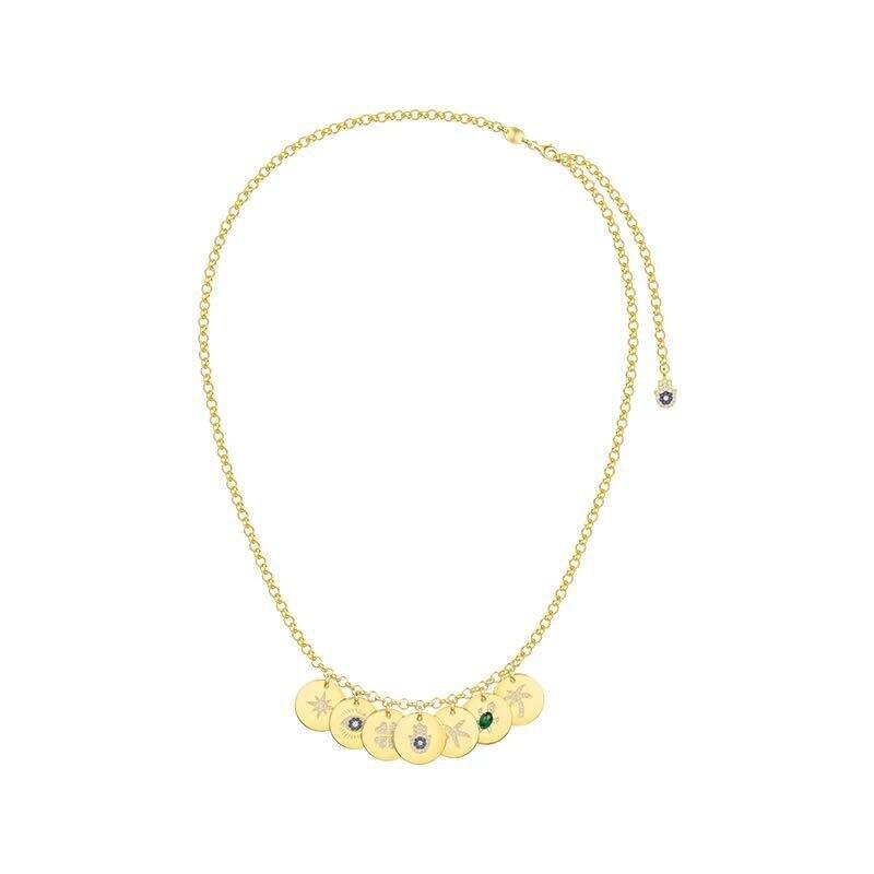 ZOZIRI goud kleur 7 munten zee charms sea turtle hart zeester palm lucky eyes ster ketting hanger sterling zilveren sieraden-in Hangers van Sieraden & accessoires op  Groep 1
