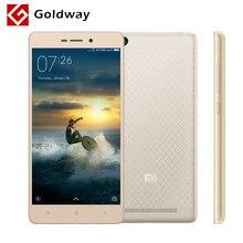 """Original xiaomi redmi 3 snapdragon 616 octa core mobile phone 2 gb ram 16 gb rom 5.0 """"1280x720 Cuerpo Metálico 4100 mAh Batería MIUI 8(Hong Kong)"""
