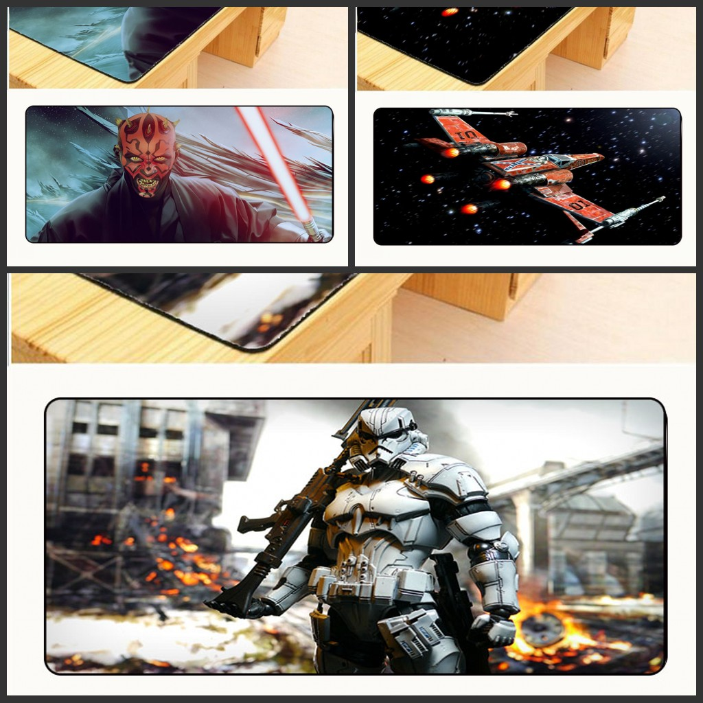 Mairuign Warriors Star Wars Movies Darth Free Shipping Gaming Rubber Mouse Pad Gamer Lar ...