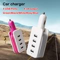4usb carregador de carro inteligente carregador usb de viagem para iphone 6 6 s para samsung xiaomi htc para pad área de trabalho com fio carregador de carro hub carregador