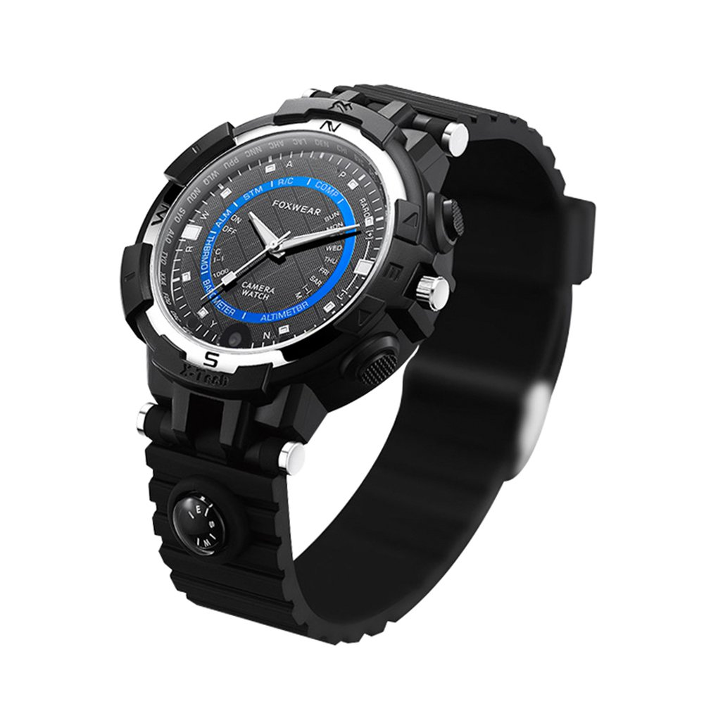 Self-Conscious Fox8s Life Waterproof Compass Flashlight Video Wristwatch Outdoor Sports Smart Wifi Watch Camera Compatible With Android Ios Special Summer Sale Watches Men's Watches