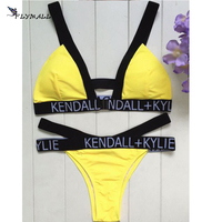 Brazilian Swimsuit 2017 Sexy Women Bikini Set Push Up Bandage Swimwear Bikinis Maillot De Bain Femme