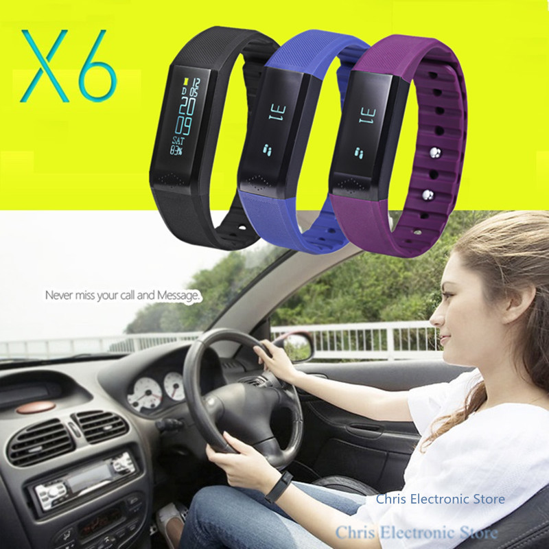 Mesuvida Original Vidonn X6 Bluetooth 4 0 IP65 Smart Wristband Bracelet Band Sleep Monitor Tracking for