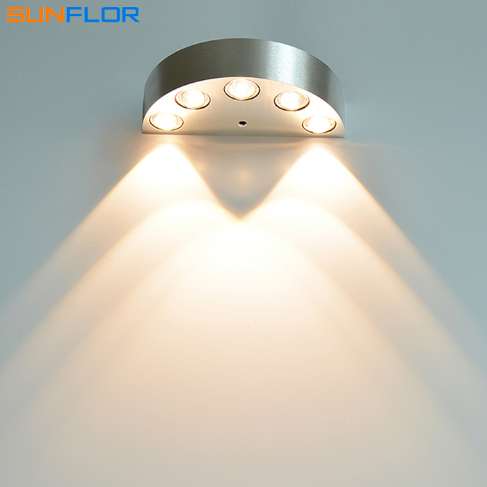 LED Sconce Surface Mounted 5W 6W Wall Lamp Indoor lighting Modern Mirror Light Bedroom Reading Bathroom Wall Sconce