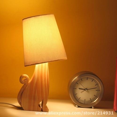 ly Moonlight Cat Lamp Cute Froest Animal Design DIY Wood Table ... on diy lampshade, diy bed, diy wall art, diy lego bathroom, diy table, diy easy things to make with household items, diy curtains, diy bearing, diy garden, diy bedroom, diy couch, diy camera, diy desk, diy projects, diy decor, diy candle holders, diy phone, diy chandelier, diy glow stick, diy light,