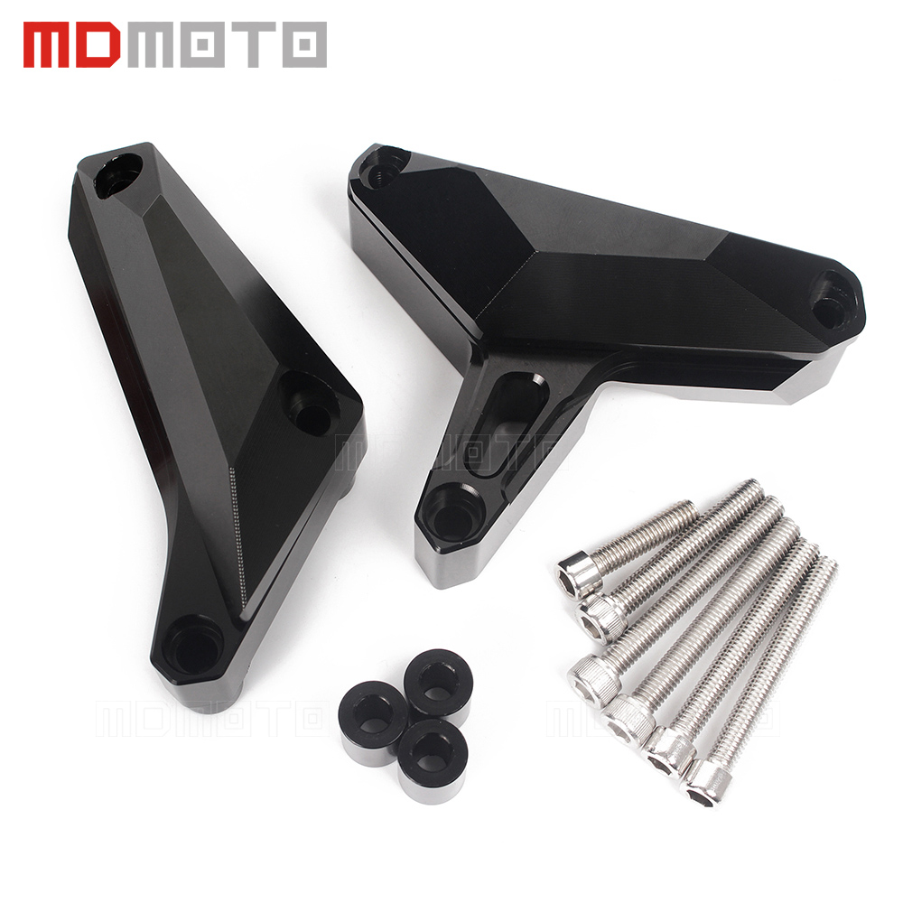 CNC Motorcycle Engine Frame Sliders Crash Protector Guard Cover For YAMAHA MT09 FZ09 FZ-09 MT-09 Tracer MT 09 FZ 09 2014-2016 engine bumper guard crash bars protector steel for yamaha mt09 mt 09 fz07 fz 09 2014 2016 2014 2015 2016 motorcycle