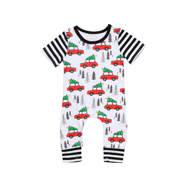 89e5811f2946 Pudcoco Cotton Newborn Baby Girls Boys Romper Short Sleeves Jumpsuit ...