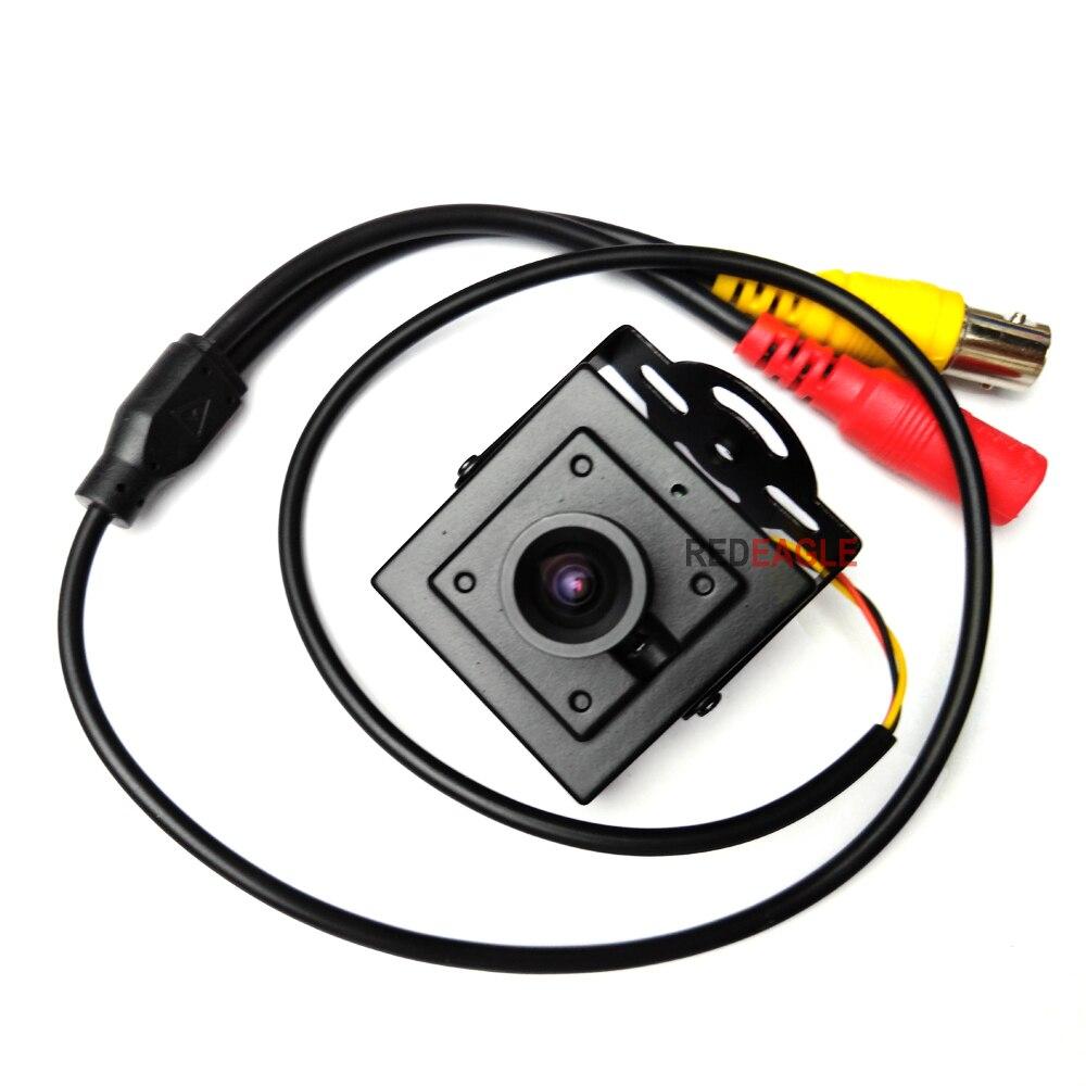 REDEAGLE 700TVL Mini CCTV Analog Camera 3.6mm Lens Full Metal Body CVBS Security Camera