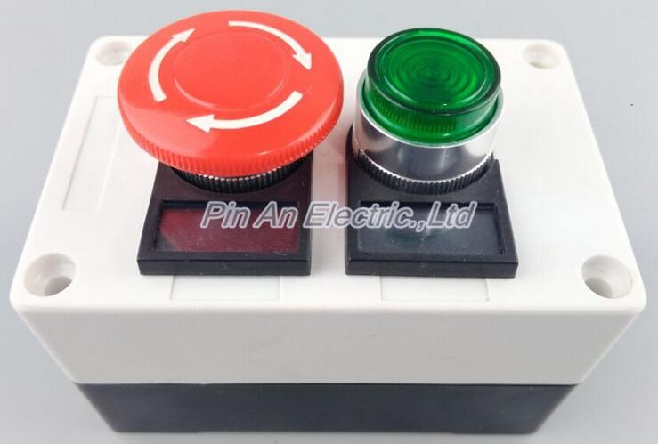 Button indicator, button, sign box, 22mm button tag box, LAY37 38