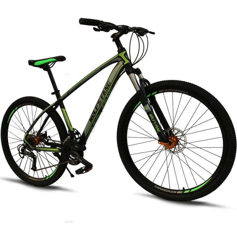 Vélo VTT 27 vitesses 29 pouces vélos 29 vélos de route résistance caoutchouc vélo vitesse mâle mécanique freins à disque