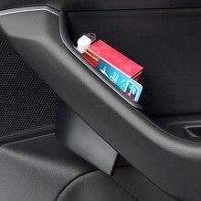 Автомобильные аксессуары передняя дверь ящик для хранения Контейнер держатель 2 шт./компл. для Фольксваген Passat B8 2017-2018
