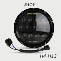 For Harley Motorcycle Accessories 7 inch Daymaker Projector LED Headlight Harley FLS, FLSTC, FLSTF, FLSTFB, FLSTN Touring Trike