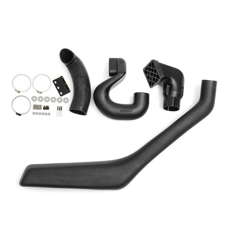 Snorkel Air Intake Kit Fit For Nissan Navara D22 2001-2007 Onwards For Diesel Black цена