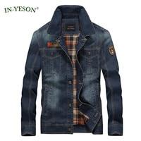 Brand Men's Denim Jacket Classic Rock Hip Hop Jacket Streetwear European Style Slim Fit Spring Autumn Jeans Jacket Men Size 4XL