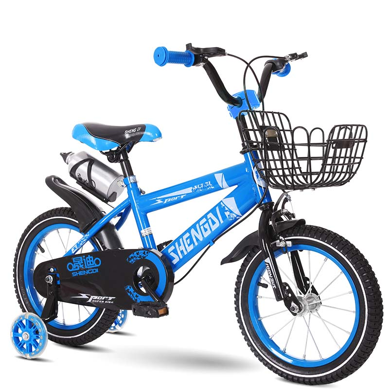 Bike Bicycle 10inch Citycoco Kid's Bike High Configuration Safety Bicicleta Sports Bicycle Baby's New Chioce Bisikle