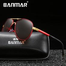BANMAR Brand New Unisex Aluminum Polarized Sunglasses Women Men Design Travel Driving Sun Glasses Classic Male Eyewear Gafas