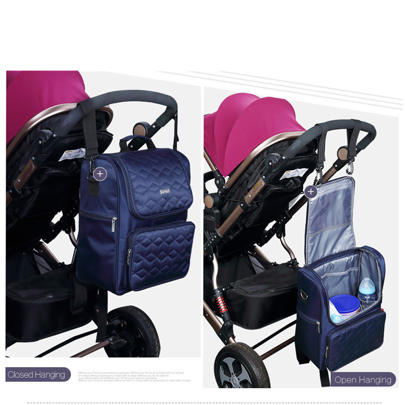 Insular Brand diaper bags mummy maternity nursing backpack nappy care Lattice Solid-color fashion baby stroller bags backpack цена