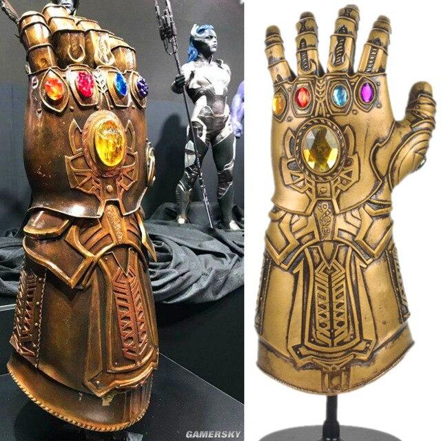 avengers infinity war thanos infinity gauntlet cosplay prop deluxe