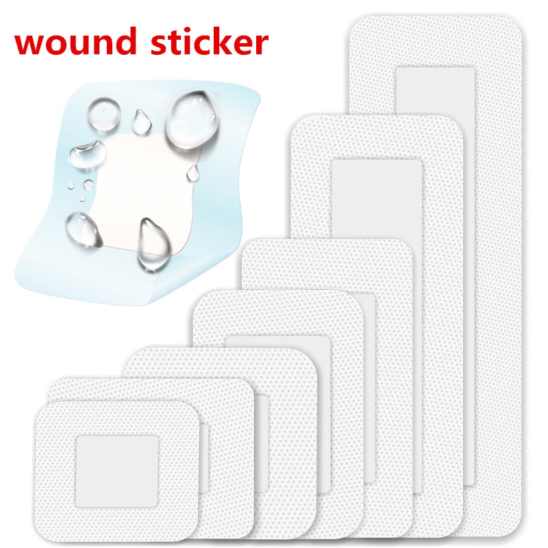 7Size/Set Sterile Medical Self-adhesive Non-woven Wound Dressings Emergency First Aid Kit Medical Stickers Patch Anti-infection