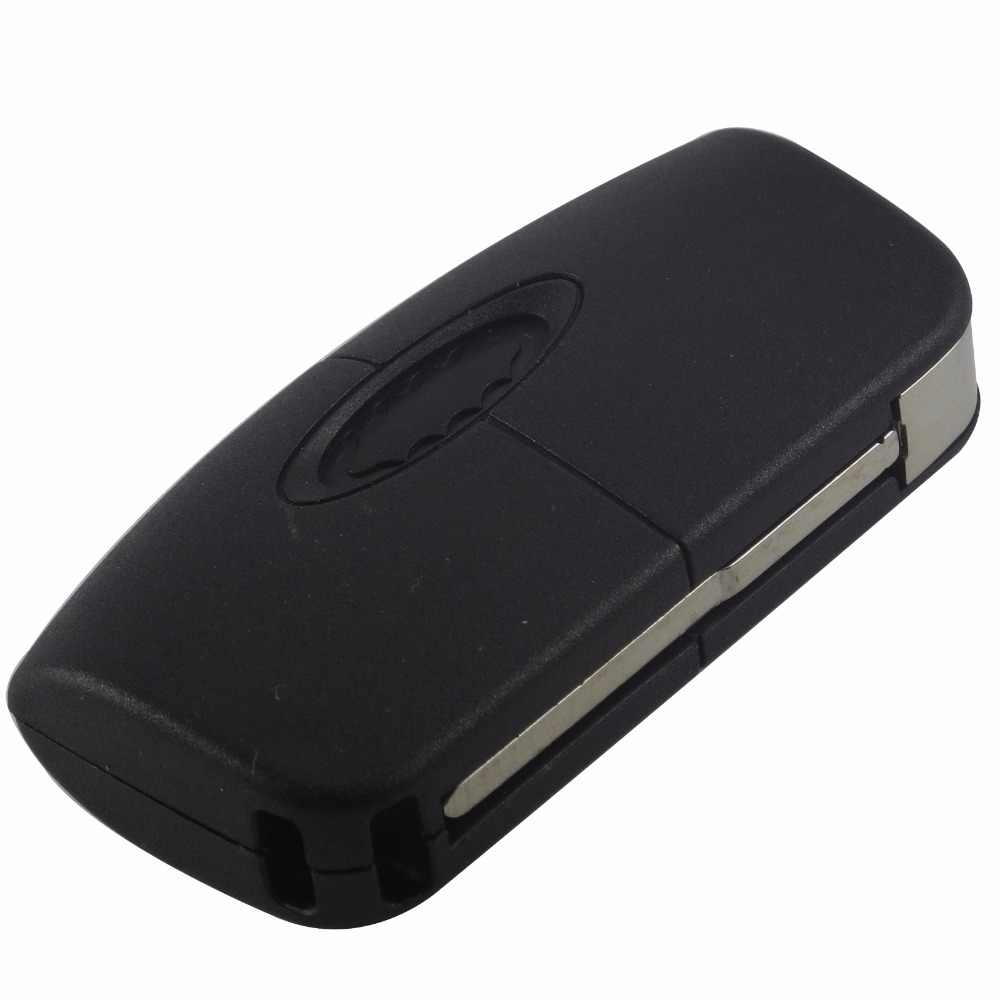 Jingyuqin 433Mhz 3 زر الوجه التحكم عن بعد مفتاح السيارة 4D60/63 40/80bit رقاقة لفورد فوكس 2 3 مونديو فييستا C ماكس كا مفتاح تقطيعه