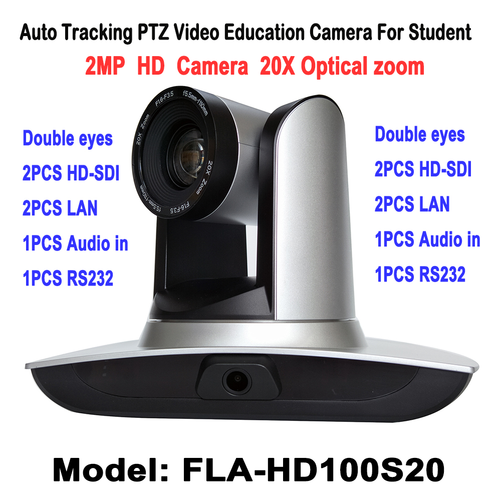 2.0Megapixel 1080P Auto Tracking PTZ Video Audio Cámara educativa - Seguridad y protección