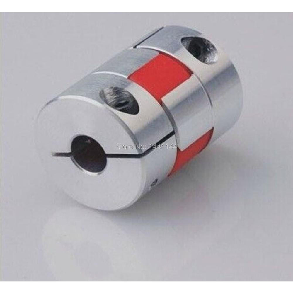 3D Printer accessories 4pcs /lot CNC jaw spider Coupler 5mm*6.35mm shaft Coupling 5mm to 6mm D20mm L25mm 5/6/6.35/8mm parts