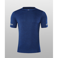 Men's Running shirt Training Quick-drying Tops Breathable Outdoor Exercise Sports T-shirts Short Sleeve Sportswear Loose