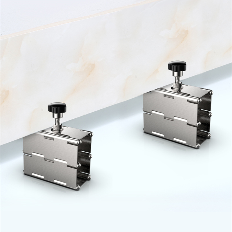 Stainless Iron Adjustment Tile Leveling System Leveler Elevated Positioning Flat-type Tile Height Adjuster Construction Tools