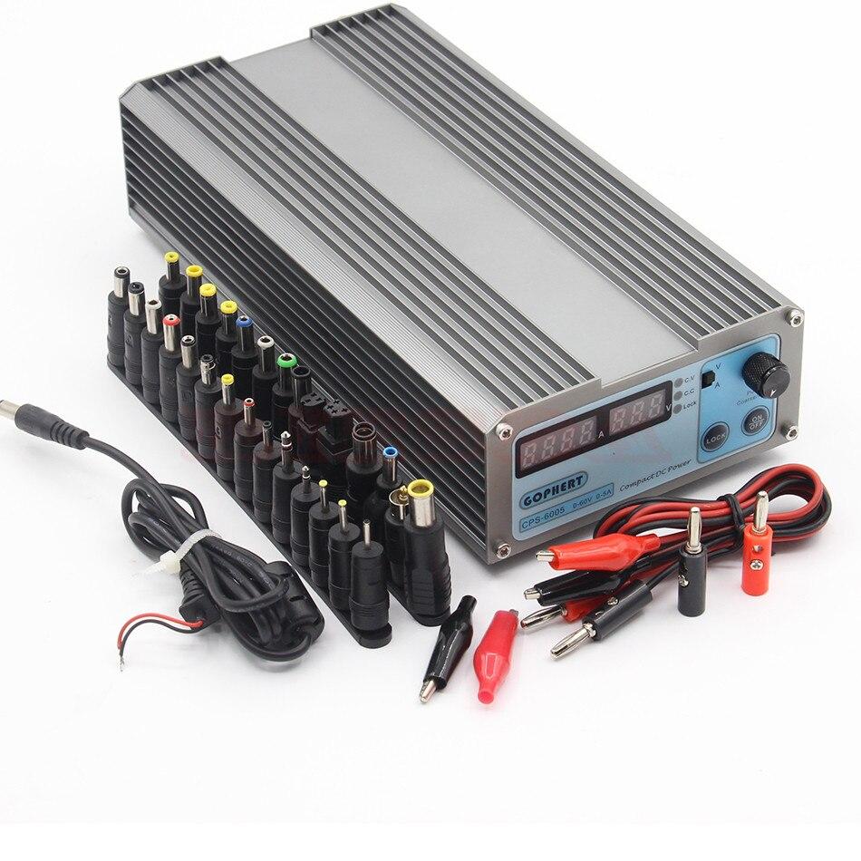 CPS6005 60V 5A 220v 0.01V/0.01A Digital Adjustable DC Power Supply Switching power supply rps3020d 2 digital dc power adjustable power 30v 20a power supply linear power notebook maintenance