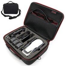 Pour DJI Mavic Drones sac à main étui de transport EVA coquille dure portable boîte d'étincelle pour DJI Drone et accessoires (4 Batteries) sacs de rangement